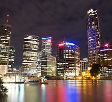 Brisbane CBD from Kangaroo Point 7 by Newsworthy