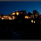 Stirling castle at night by Shaun Whiteman