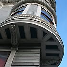 Oriel, Victorian Circular Corner Bay Window, San Francisco by Jane McDougall