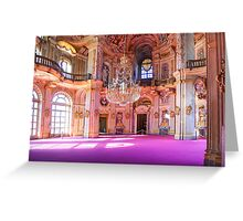 Stupingi Hunting Villa - Central Salone - Torino - Italia Greeting Card