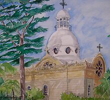 Bechara Church, Achrafieh Beirut Lebanon by nancy salamouny