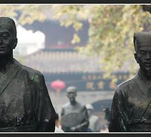 Fuzi miao philosophers by Coastalbloke