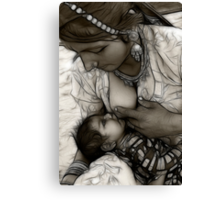 Mother is God Canvas Print