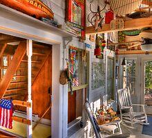 Alton Bay Porch by Bruce Taylor