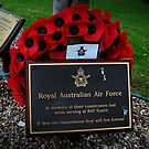 royal australian memorial plaque by TimmyLea