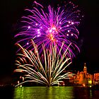 Camogli Fireworks 2 by paolo1955