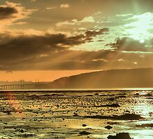 Kessock Bridge at Sunset by Rob Outram