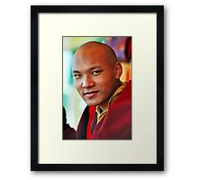 Ogyen Trinley Dorje. Sidphur, India 2004 Framed Print