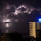 Mooloolaba Storm - 4 by Newsworthy