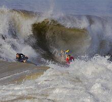 The Wedge- Newport Beach California by photosbyflood