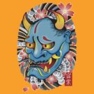 Hanya Demon Mask by satansbrand