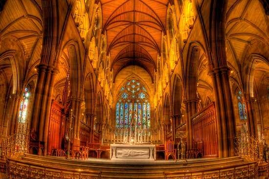St Mary's Cathedral 2 by Mark van den Hoek