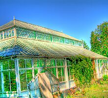 Dilapidated Glasshouse by m4rtys