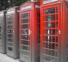 London Street Phones by katormo