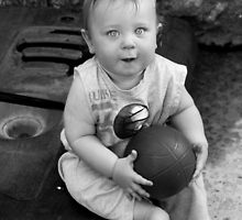 Ryan And His Ball by Laurie Search