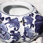 Flies on teapot by Sarah Crowe