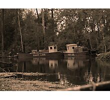Florida Paddle Wheel Photographic Print