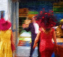 Her Hat Blew Him Over by Richard Dooley