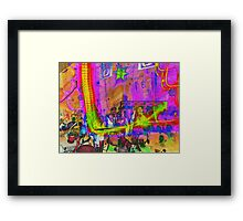 As the Rush Comes Framed Print