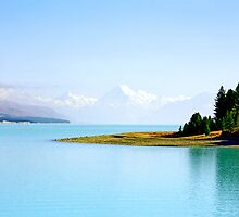 Lake Pukaki by kevin smith  skystudiohawaii