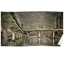 Dojima bridges Poster