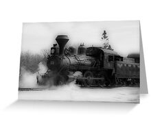 Steam Engine #3 - Prairie Dog Central Railway Greeting Card