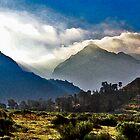Nichols Peak Sunrise by Larry Darnell