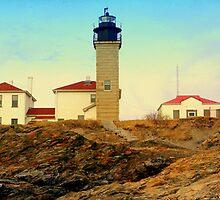 Beavertail Light House by rtographsbyrolf