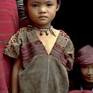Hilltribe girl by John Spies