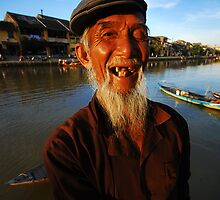 Old Man - Hoi An by toddyhotpants