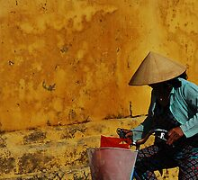 Cyclist - Hoi An by toddyhotpants
