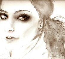 Amy Lee Drawing by NollaTheDaisy