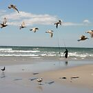 Fishing on Long Beach Island, NJ by dorisandfred