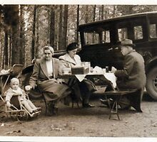 Family Picnic by plumb