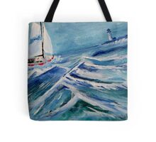 Could Be In Trouble Tote Bag