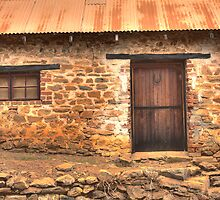 Stone Cottage by Elaine Teague
