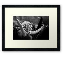 hula hoops Framed Print