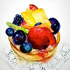 Delicious...Delectable Fruit Tart by © Janis Zroback