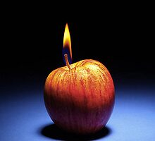 Apple Flame by James Burger