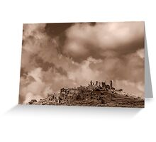 Ruins of Cirella Greeting Card