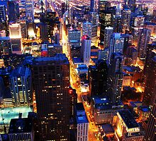 Chicago by Night by jack8