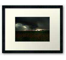 We Have Touchdown...... Framed Print