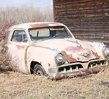 Hidden Treasure - 1953 Studebaker Coupe by Leslie van de Ligt