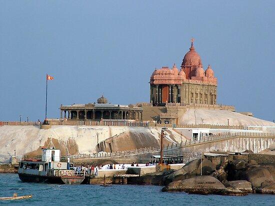 Swami Vivekananda Memorial, India by AravindTeki