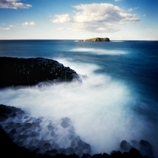 Fingal Head Pinhole ll by Sue Hammond
