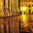 Tempio di Adriano e Piazza di Pietra by Eyal Geiger
