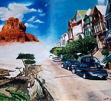 California Dream  by Kasia B. Turajczyk