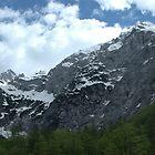 Alps in the sky by Diego Marando