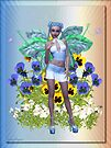 Sweet Pansy .. a flower fairy by LoneAngel