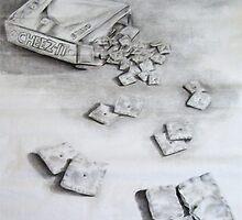 The Lonley Cheeze-It by Beka Judd